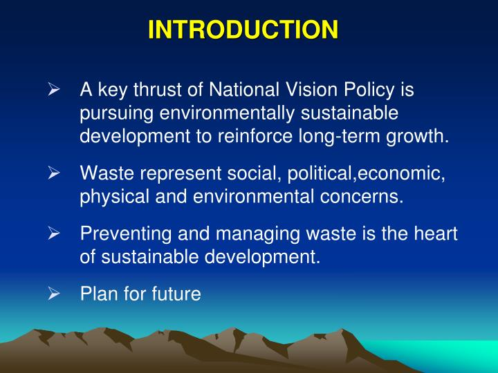 sustainable development the key for future 1 sustainable development is development that meets the needs of the present without compromising the ability of future generations to meet their own needs it contains within it two key concepts: the concept of 'needs', in particular the essential needs of the world's poor, to which.