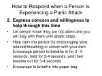 how to respond when a person is experiencing a panic attack2