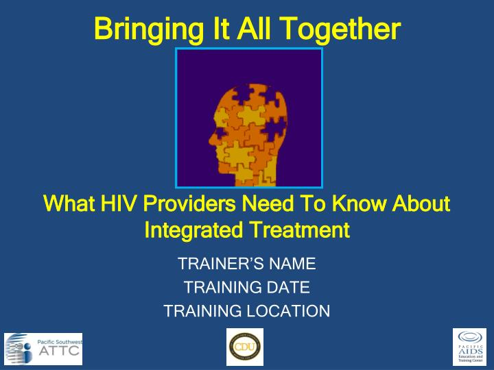 what hiv providers need to know about integrated treatment n.