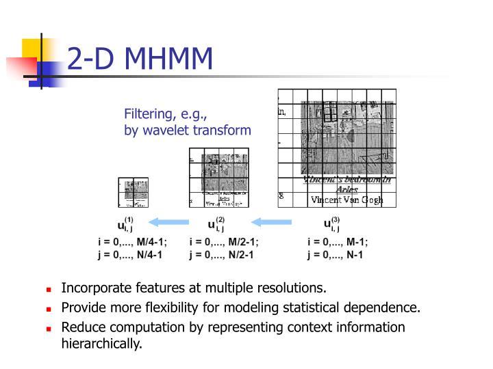 2-D MHMM