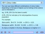 1b11 colour index1