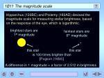 1b11 the magnitude scale