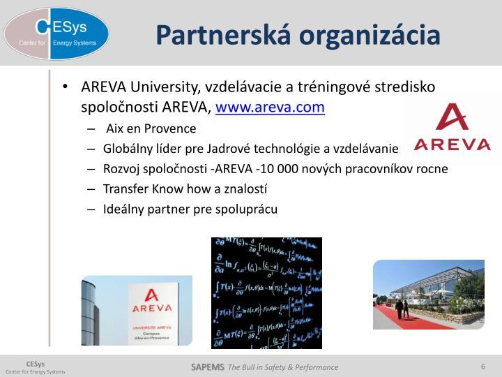 Partnerská organizácia