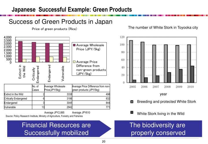 Japanese  Successful Example: