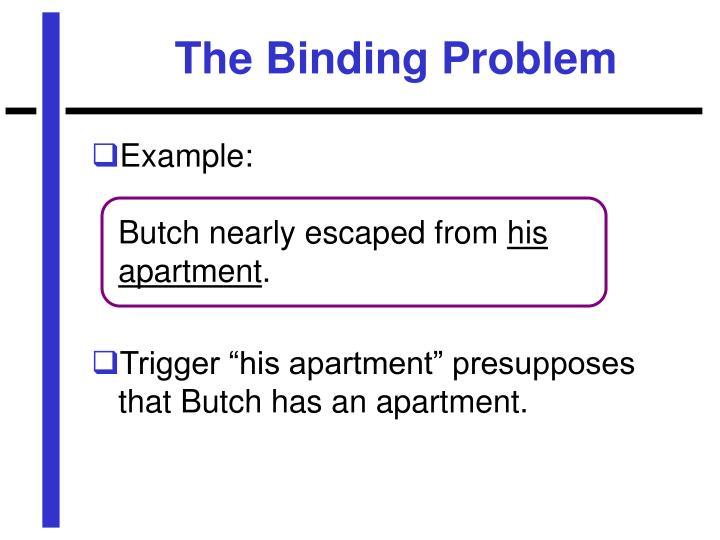 The Binding Problem