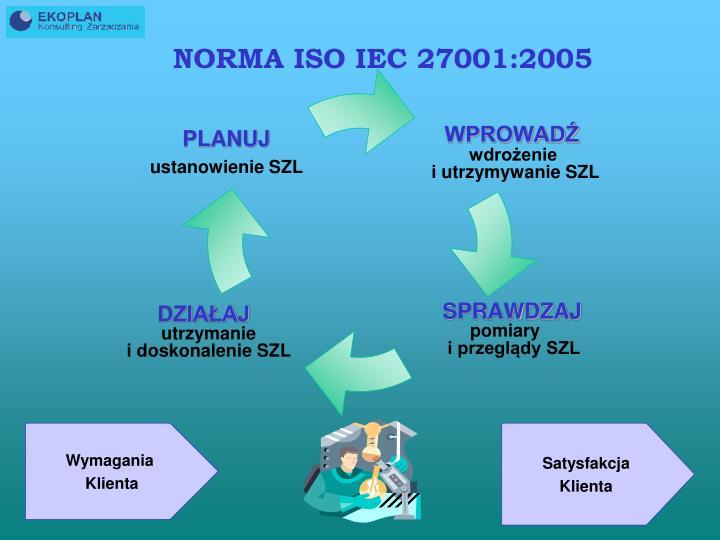NORMA ISO IEC 27001:2005