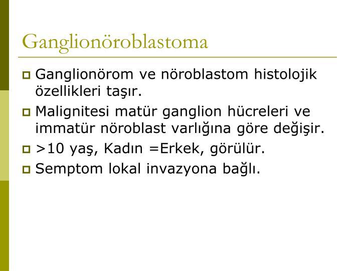Ganglionöroblastoma
