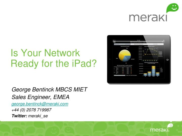 Is your network ready for the ipad