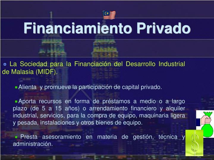 Financiamiento Privado