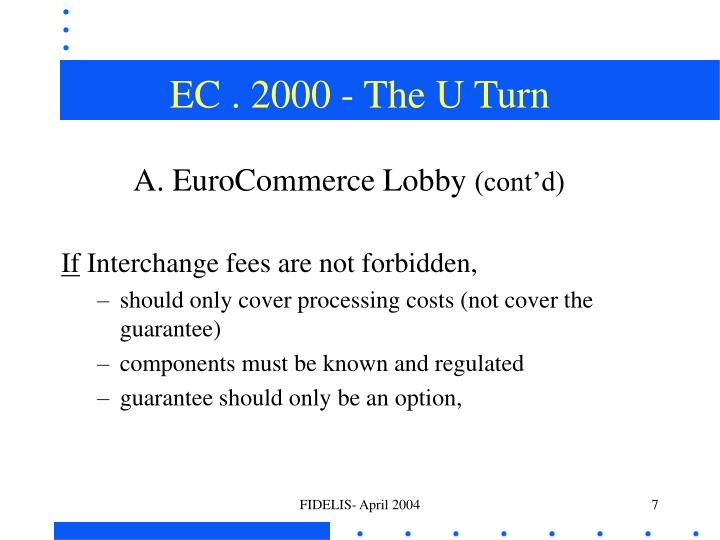 EC . 2000 - The U Turn