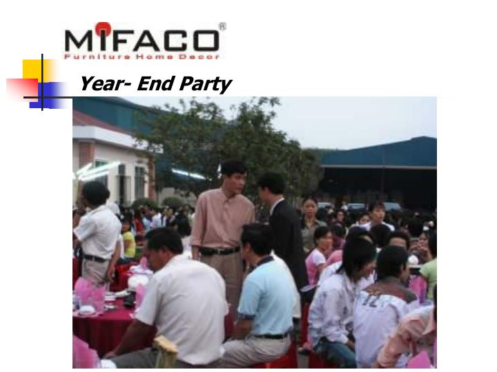 Year- End Party