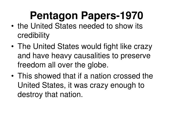 Pentagon Papers-1970
