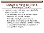 approach to higher education knowledge transfer2