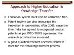 approach to higher education knowledge transfer7