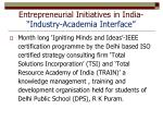 entrepreneurial initiatives in india industry academia interface1