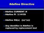 define directive
