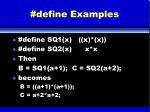 define examples