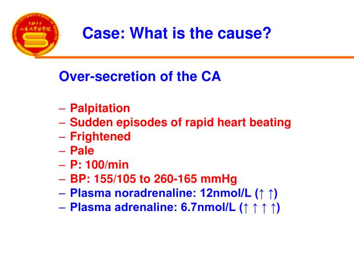 Case: What is the cause?