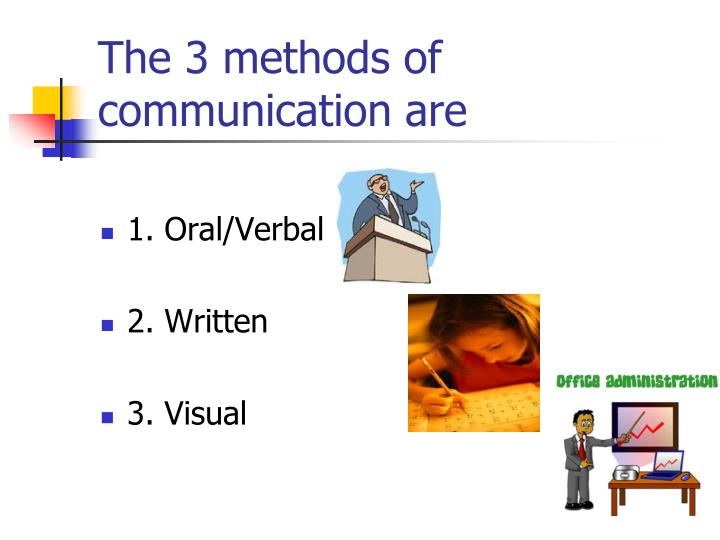3 means of communication Thus communication means sharing ideas in common to one or many it means a verbal or written message, an change of information, a system of communicating, and a process by which meanings are exchanged between individuals/groups of individuals through a common system of symbols.