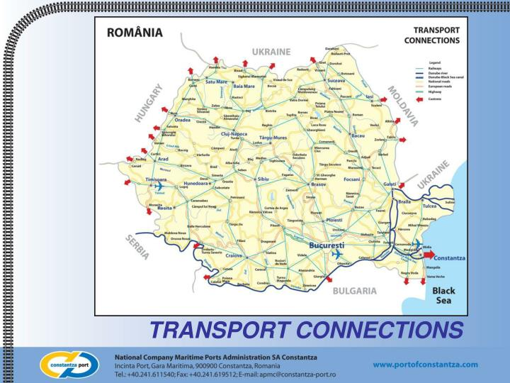 Transport connections