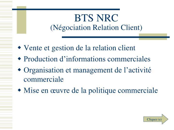 BTS NRC