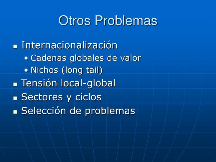 Otros Problemas