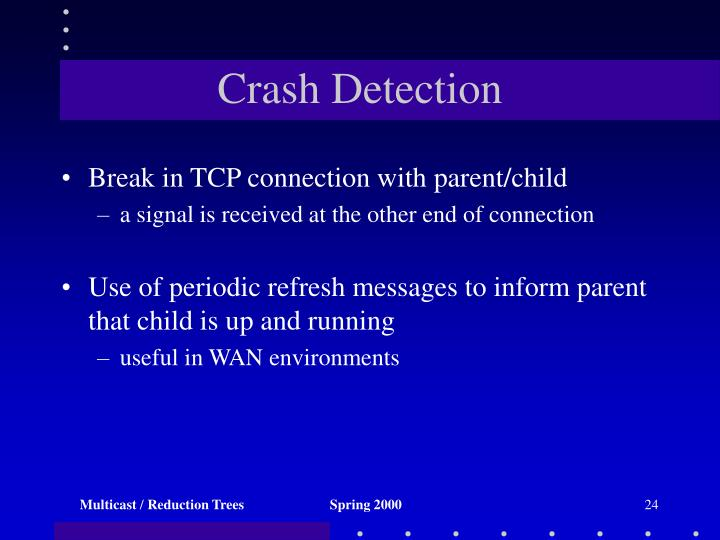 Crash Detection