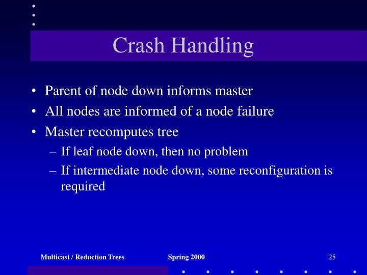 Crash Handling