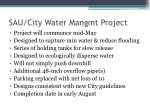 sau city water mangmt project