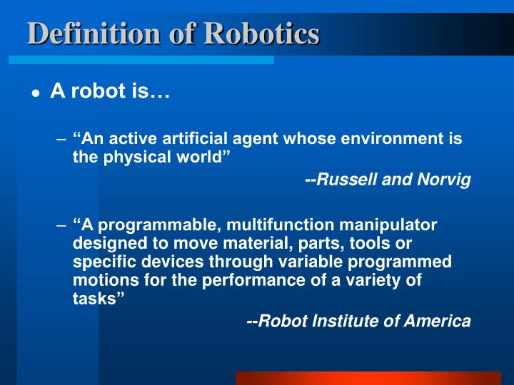 Ppt Artificial Intelligence And Robotics Powerpoint Presentation