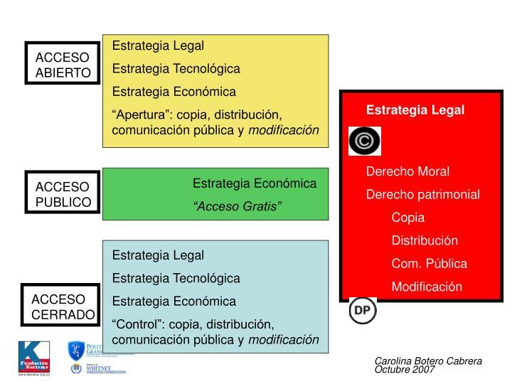 Estrategia Legal