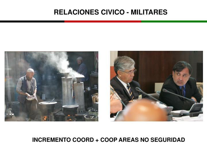 RELACIONES CIVICO - MILITARES