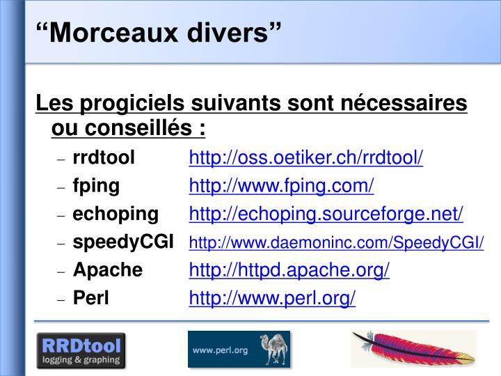 """""""Morceaux divers"""""""