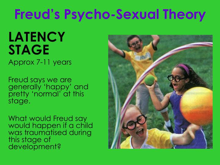 freuds theory of psycho sexual stages Freud's theory of psychosexual development freud's theory of psychosexual development is one of the best known, but also one of the most controversial.