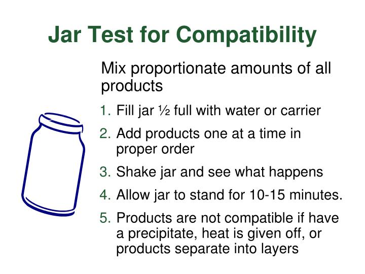 Jar Test for Compatibility