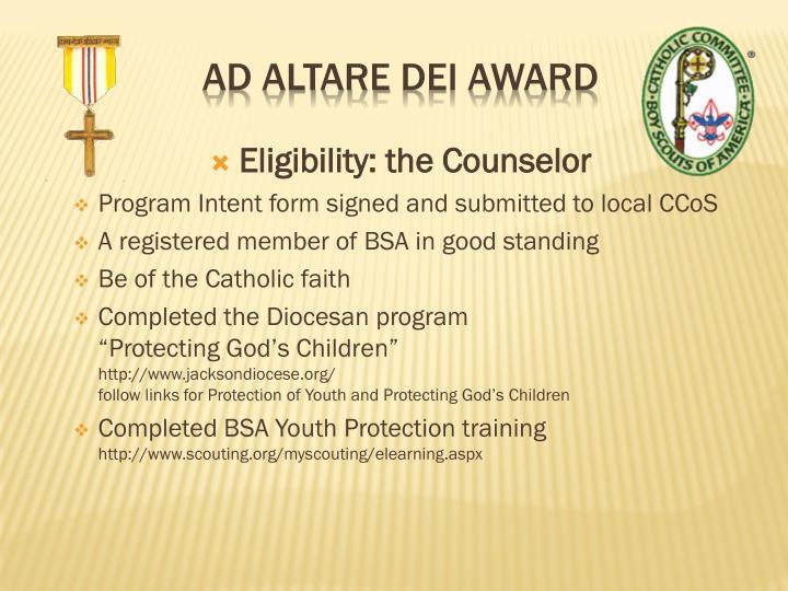Ad altare dei award1