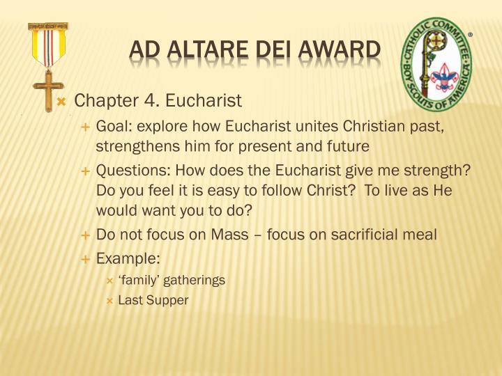 Chapter 4. Eucharist