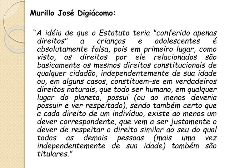 Murillo José Digiácomo: