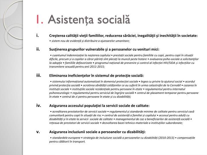 1 asisten a social