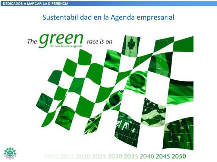 Sustentabilidad en la Agenda empresarial