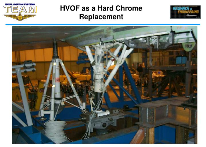 HVOF as a Hard Chrome