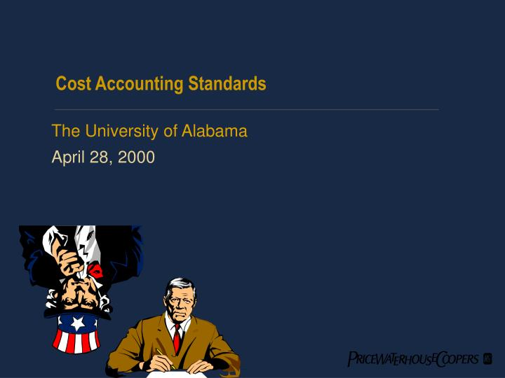 cost accounting standards n.