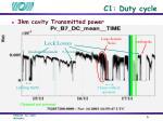 c1 duty cycle