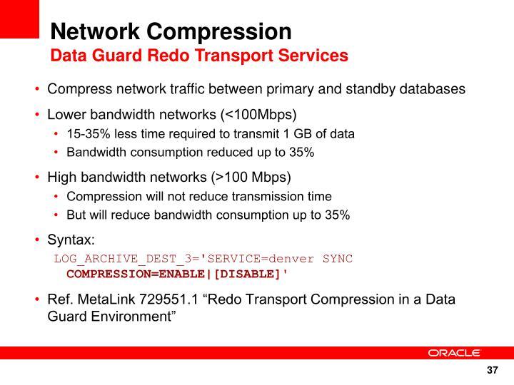 Network Compression
