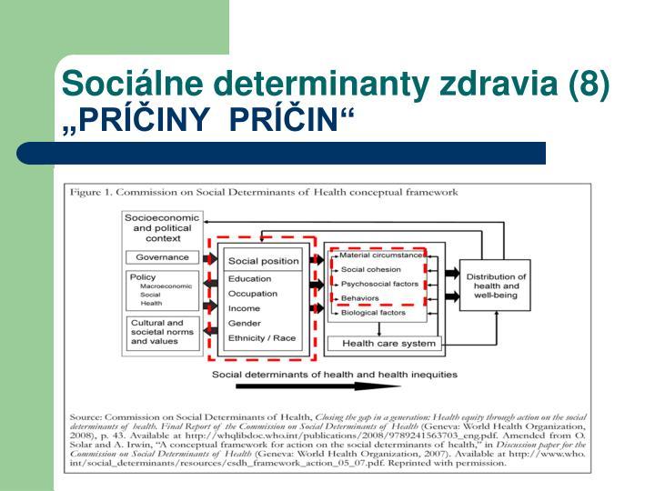 Sociálne determinanty zdravia (8)