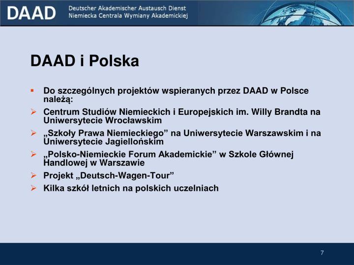 DAAD i Polska