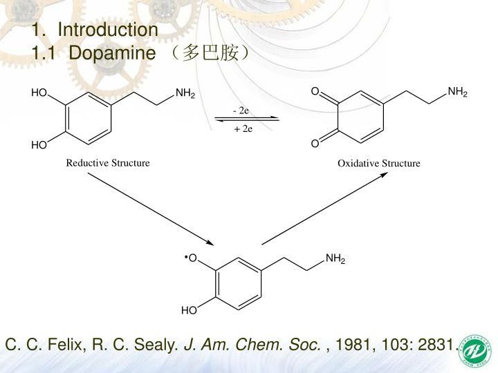 1 introduction 1 1 dopamine