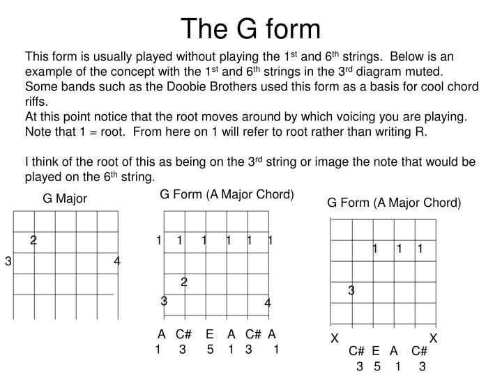 The G form