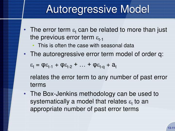 Autoregressive Model