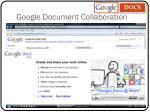google document collaboration